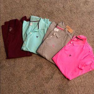 Lot of 4 Medium Polo Shirts -NEW